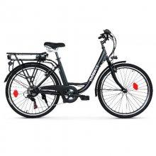 Nilox J5 Bicicleta Eléctrica de Acero Negro