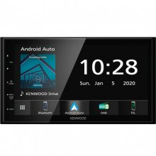 Kenwood DMX5020DABS Autorrádio Bluetooth/USB/DAB+/Android/Apple CarPlay en PcComponentes