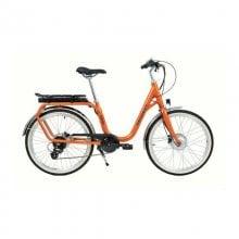 Bicicleta Eléctrica Norton Peugeot Ciudad Naranja
