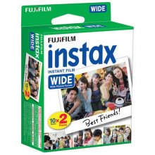 Fujifilm PELICULA INSTAX WIDE GLOSSY PACK 20 en PcComponentes