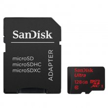 Sandisk MicroSDXC 128GB Ultra Android Clase 10 + Adaptador en PcComponentes
