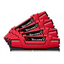 G.Skill Ripjaws V Red DDR4 2400 PC4-19200 32GB 4x8GB CL15 en PcComponentes