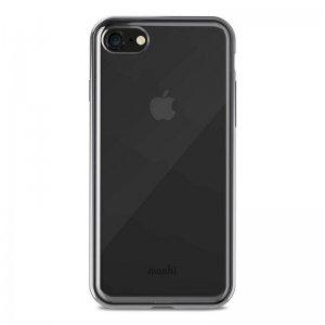 Moshi Vitros Funda Transparente/Negra para iPhone 8/7
