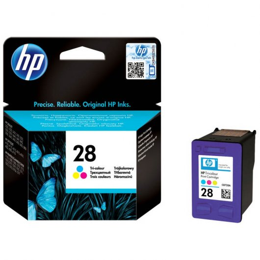 HP 28 Cartucho Tinta Original color