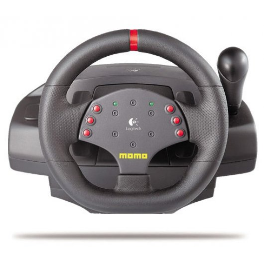 Logitech MOMO Racing Force Feedback Wheel |PcComponentes