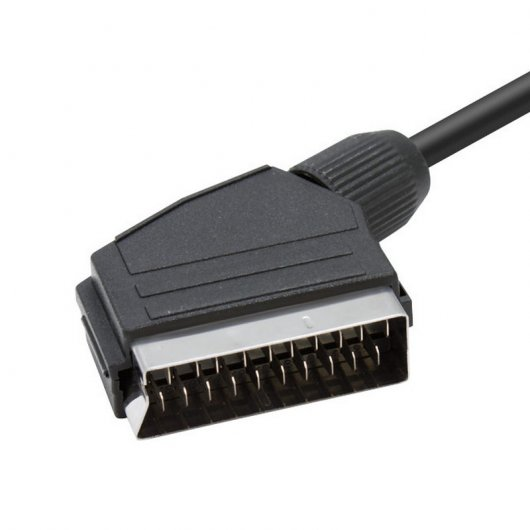 Cable Euroconector a VGA 2m (hd15-m/scart-m)