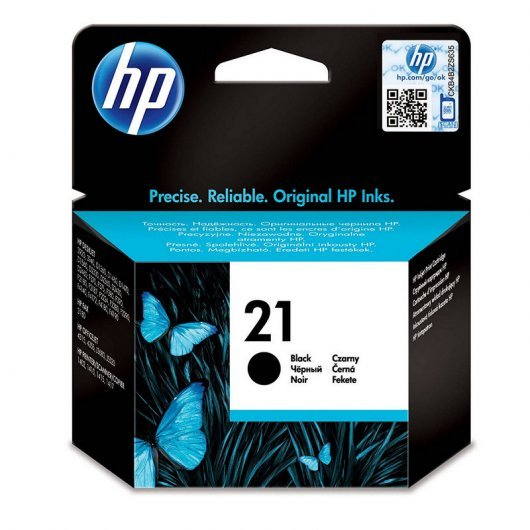 HP 21 Cartucho Tinta Original Negro