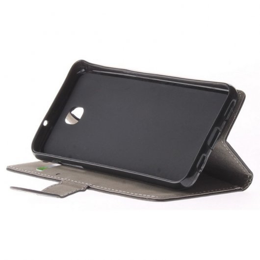 Funda Libro Negra para LG X Screen
