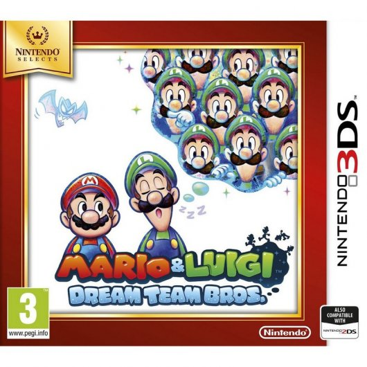 Mario & Luigi: Dream Team Bros Nintendo Selects 3DS