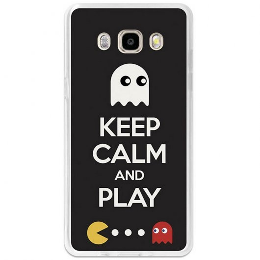 BeCool Funda Keep Calm Comecocos para Samsung Galaxy J5 2016
