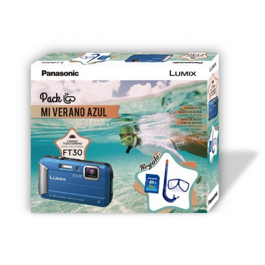 Panasonic FT30 Acuática + Pack buceo