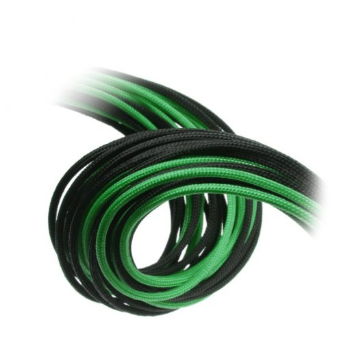 CableMod Basic Cable Extension Kit - 6+6 Pin Series - Negro y Verde