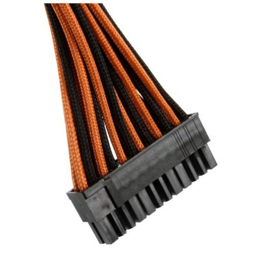 CableMod Basic Cable Extension Kit - 8+6 Pin Series - Negro y Naranja