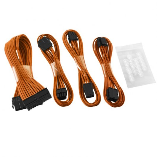 CableMod Basic Cable Extension Kit - 8+6 Pin Series - Naranja