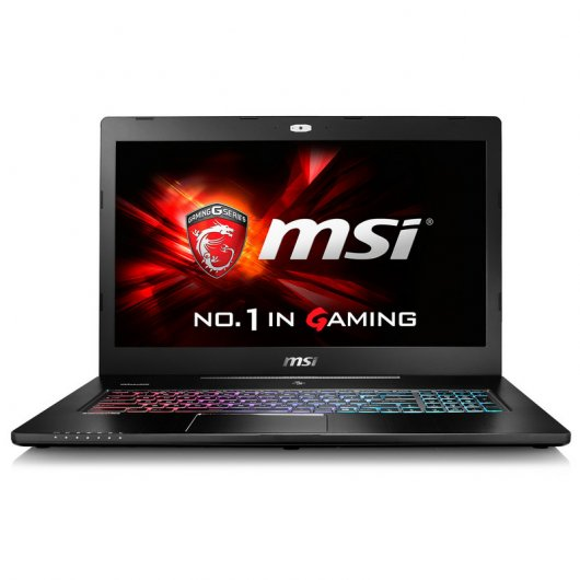 "MSI GS72 6QD-078ES Intel i7-6700HQ/16GB/1TB+256SSD/GTX965M/17.3"" Reacondicionado"