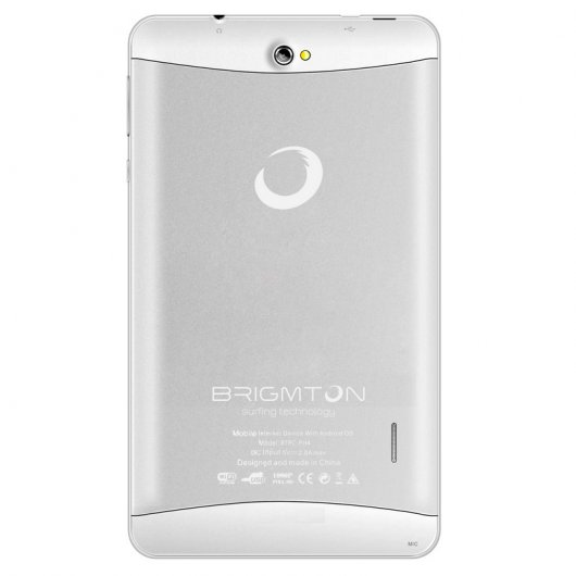 "Brigmton BTPC-PH4 7"" IPS 3G Quad Core Blanca"