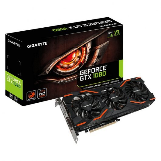 Gigabyte GeForce GTX 1080 WindForce OC 8GB GDDR5X