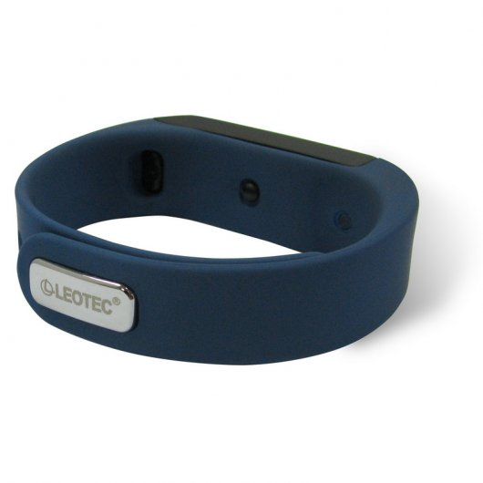 Leotec Pulsera Fitness Touch+ Sumergible Azul