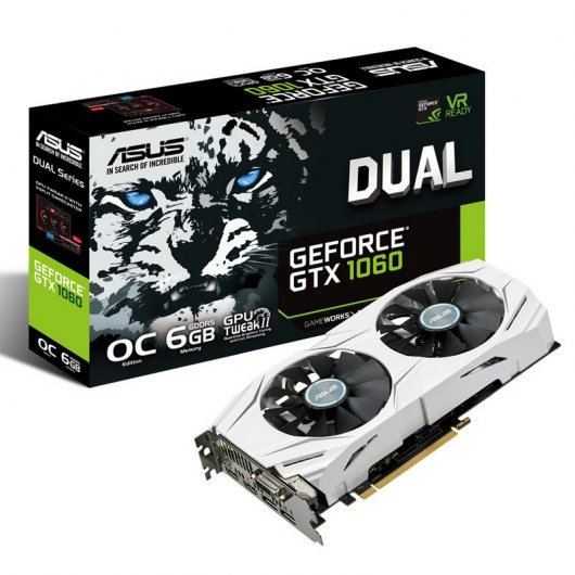 Asus Dual GTX 1060 OC 6GB GDDR5