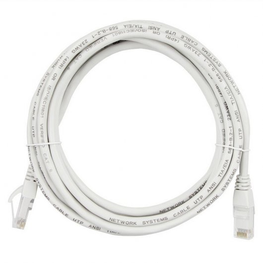 Owlotech Cable de Red RJ45 UTP Cat.6 10/100/1000 Gris (3m)