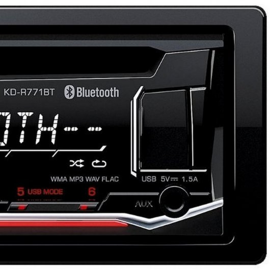 JVC KD-R771BTE Autoradio CD/USB/AUX Bluetooth