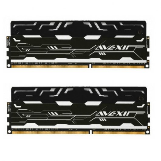 Avexir Blitz DDR4 3000 PC4-24000 16GB 2x8GB CL16 LED Blanco