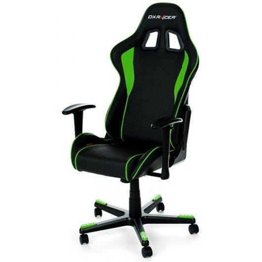 dxracer f series oh fe08 ne silla gaming negro verde On sillas gaming black friday