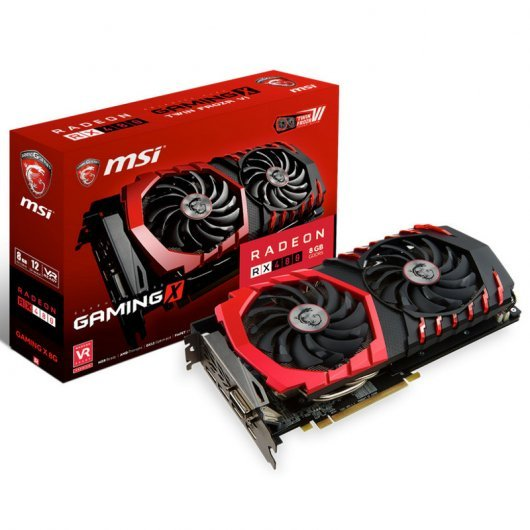 MSI Radeon RX 480 Gaming X 8GB GDDR5