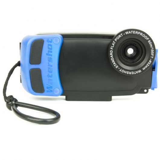 Watershot Funda Waterproof Azul para Iphone 5/5S/5C