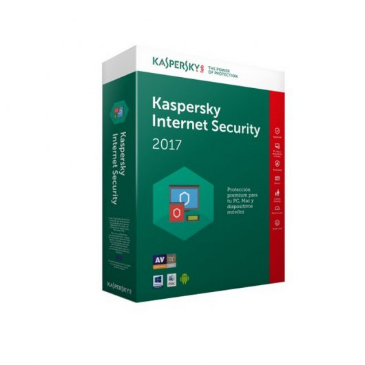 Kaspersky Lab Internet Security Multi-Device 2017 Renovación 3 Licencias 1 Año