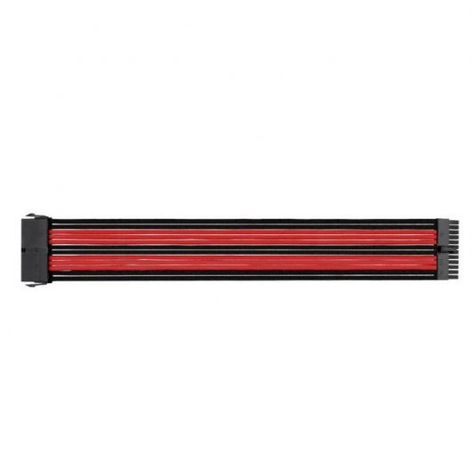Thermaltake TtMod Sleeve Pack Cables Extension Placa Base Negro/Rojo