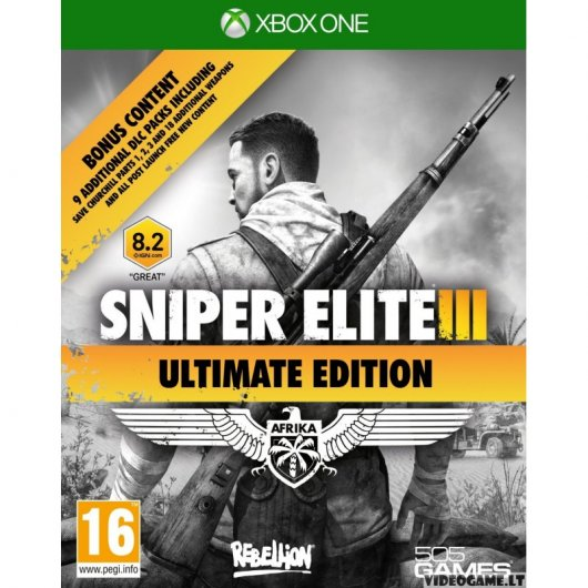Sniper Elite III Ultimate Edition para Xbox One