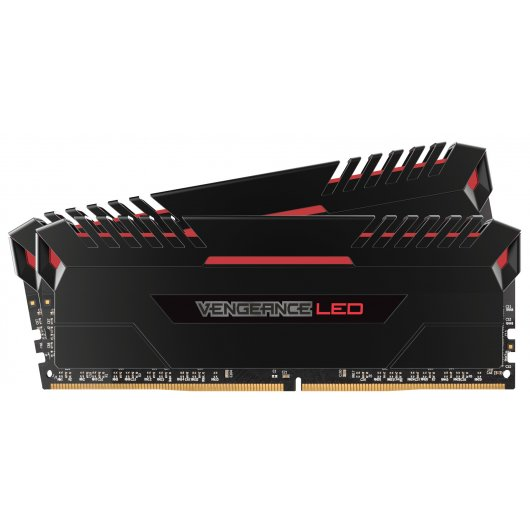 Corsair Vengeance LED DDR4 3000 PC4-24000 16GB 2x8GB C15 Rojo