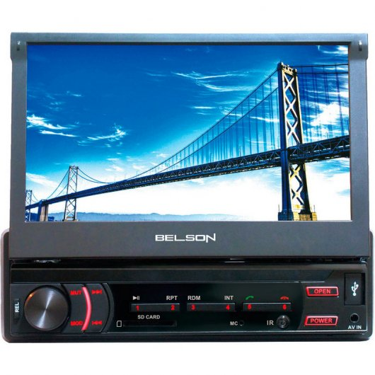 "Belson STL-5705KML Autoradio Reproductor 7"" Táctil Bluetooth FM/USB/SD"