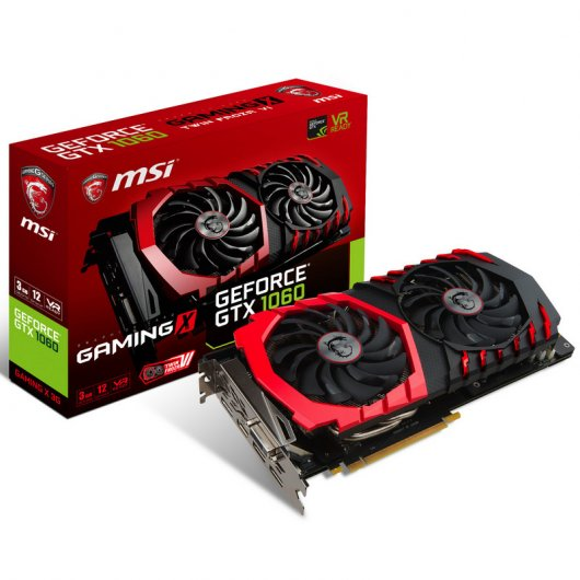 MSI GTX 1060 GAMING X 3GB GDDR5 Reacondicionado