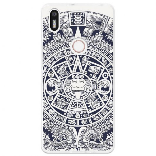 BeCool Funda Azteca para BQ Aquaris X5 Plus