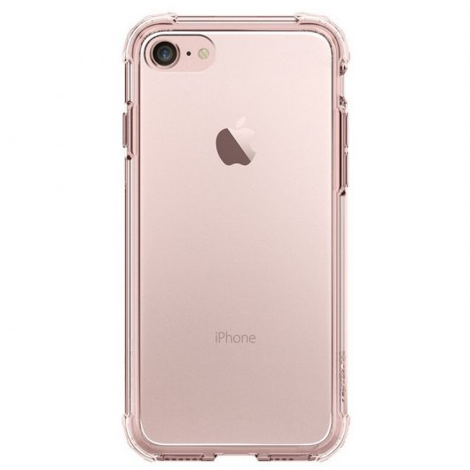 Spigen Crystal Shell Carcasa Rosa para iPhone 7 Plus