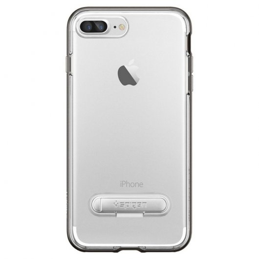 Spigen Hybrid Crystal Carcasa Gunmetal para iPhone 7 Plus