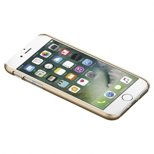 Spigen Thin Fit Carcasa Champagne Gold para iPhone 7