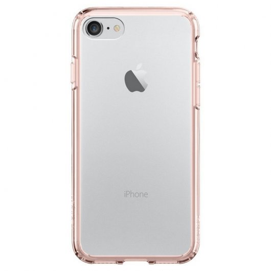 Spigen Ultra Hybrid Crystal Carcasa Rosa para iPhone 7 Plus