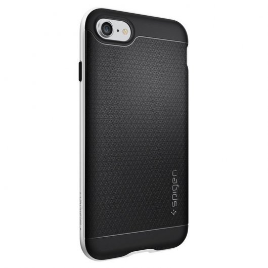 Spigen Funda Neo Hybrid Satin Silver para iPhone 7 Plus