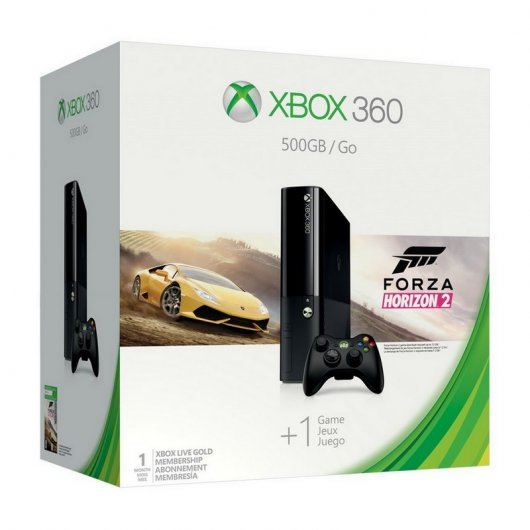 Microsoft Xbox 360 500GB + Forza Horizon 2 Reacondicionado