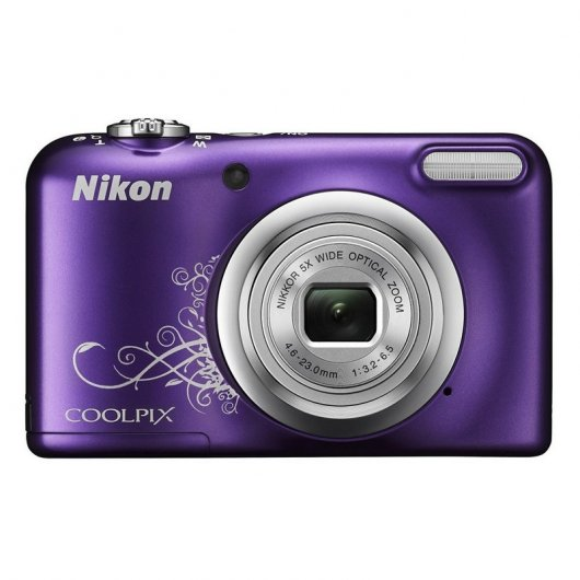 Nikon CoolPix A10 16.1MP Morada+ Funda