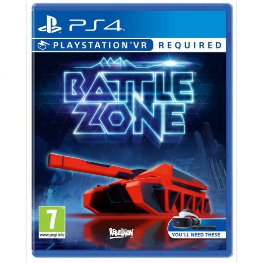 Sony Battlezone VR PS4