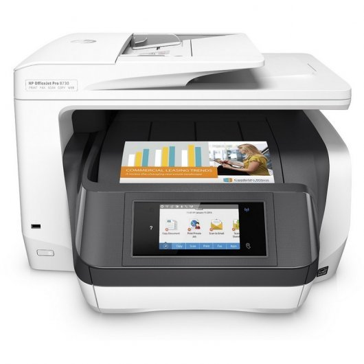 HP Officejet Pro 8730 Multifunción Color WiFi Blanco