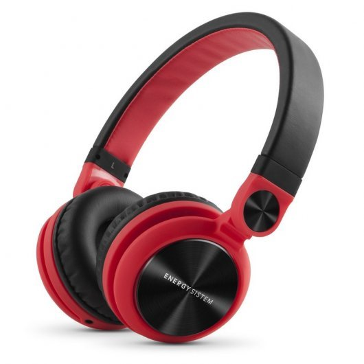 Energy DJ2 Auriculares Red