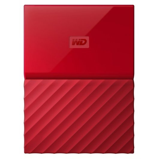 "WD My Passport 3 TB 2.5"" USB 3.0 Rojo"