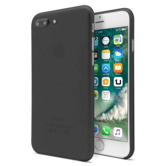 Unotec Funda Super-Slim Negra para iPhone 7 Plus