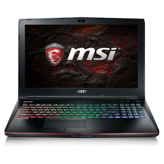 MSI GE62 7RE-216XES Intel Core i7-7700HQ/16GB/1TB/256GB SSD/GTX1050Ti/15.6""