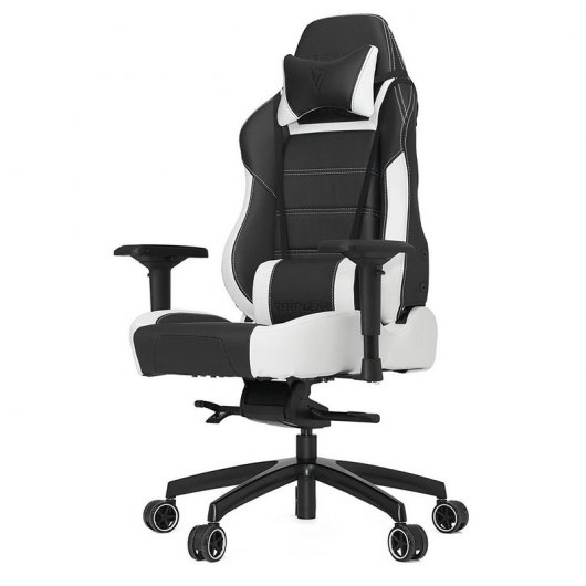 Vertagear racing series pl6000 silla gaming negra blanca for Sillas blancas y negras